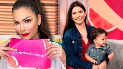 Gael conquistó corazones en televisión, así fue la visita de Ana Patricia a Despierta América con su hijo menor