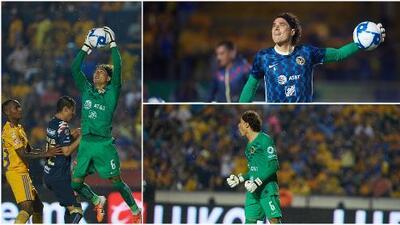 En fotos: 'Memo' Ochoa reaparece en Liga MX ante Tigres en el 'Volcán'