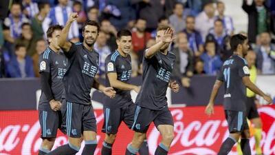 La Real con Carlos Vela gana en Leganés y escala posiciones
