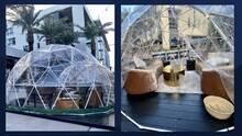 """En tiempos de coronavirus: cenar dentro de una """"burbuja"""" ya es posible en Scottsdale"""