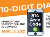 Hay cambios para los residentes en el código de área 854 y esto debes saber