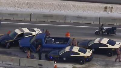 Tras protagonizar una persecución, un hombre es arrestado en Miami-Dade y enfrenta cargos