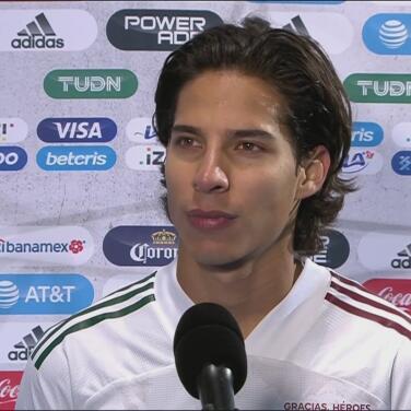 Un muy feliz Diego Lainez habló de su primer gol con México