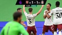 Por penales, el Arsenal venció al Liverpool y ganó la Community Shield