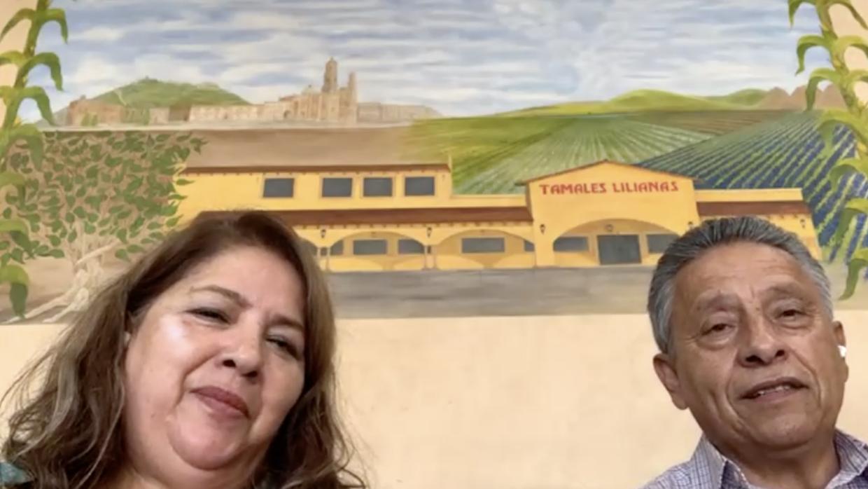 La pareja mexicana que llegó a EEUU 'sin un quinto' y hoy tiene un exitoso negocio de tamales (que hasta Biden probó)
