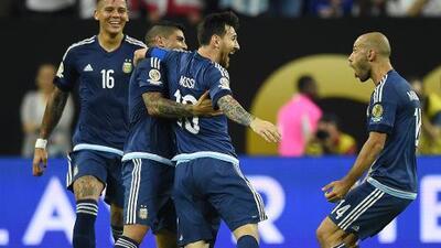 Todos los goles de Messi con Argentina