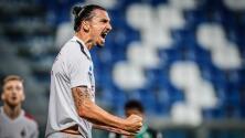 Doblete de Ibrahimovic consolida al AC Milan en Europa
