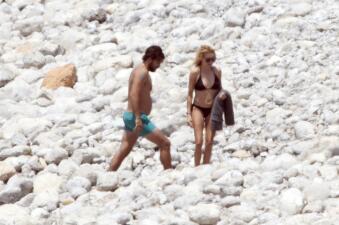 Las vacaciones románticas de Paulina Rubio y Gerardo Bazúa