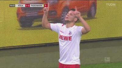 ¿Gran cabezazo o grave error del portero? Schaub pone el 2-0 para FC Köln