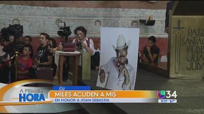 Miles despidieron a Joan Sebastian