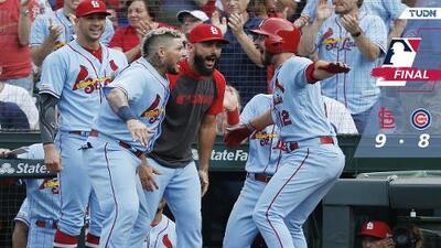 Cardinals propinan a Cubs quinta derrota seguida; Playoffs en duda