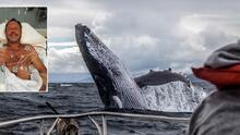 Buzo asegura que fue tragado por una ballena y estuvo en su boca durante casi 40 segundos