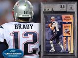 Tarjeta de novato de Tom Brady se vende en 2.25 millones de dólares
