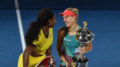 Angelique Kerber sorprendió a Serena Williams en la final del Abierto de Australia
