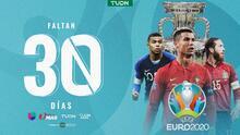 ¡Cuenta regresiva! Faltan 30 días para el inicio de la Eurocopa