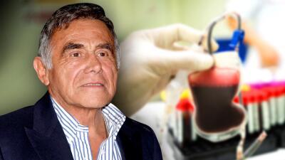 Héctor Suárez recibe transfusiones de sangre antes de que le quiten la vejiga y la próstata