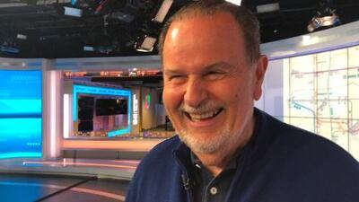 Raúl De Molina visita los estudios de Noticias Univision 41