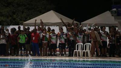 Noche de ensueño en Barranquilla 2018 para el equipo mexicano de natación
