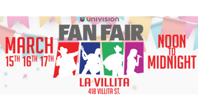 2019 Univision Fan Fair lineup, schedule & more!