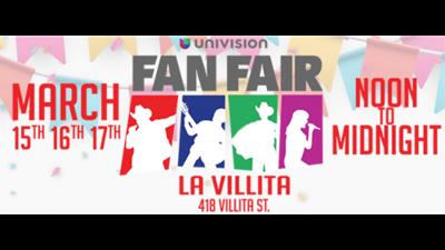 2019 Univision Fan Fair lineup, schedule & more!