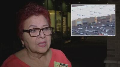 """""""Ella está un poco trastornada, muy asustada"""", dice familiar de una mujer que resultó herida en el tiroteo en Texas"""