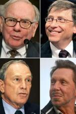 Los millonarios más generosos de EU