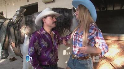 Ximena Cordoba pasó su primera vez en un jaripeo con El Chapo de Sinaloa