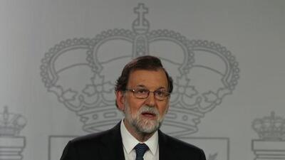 En video: Presidente del gobierno español desconoce referéndum en Cataluña