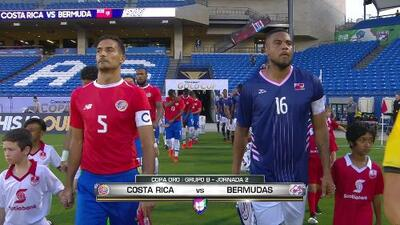 Costa Rica vs. Bermudas