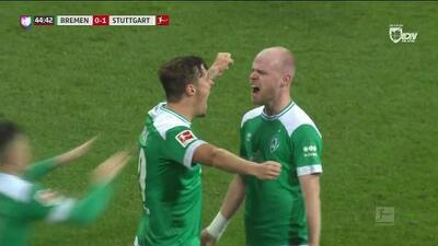 ¡GOOOL! Davy Klaassen anota para SV Werder Bremen