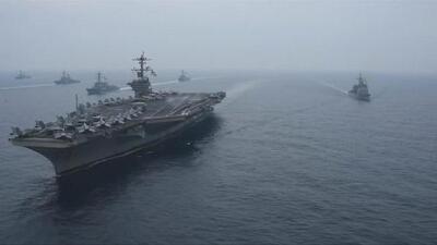 EEUU y Japón hacen ejercicios navales conjuntos ante la amenaza de Corea del Norte