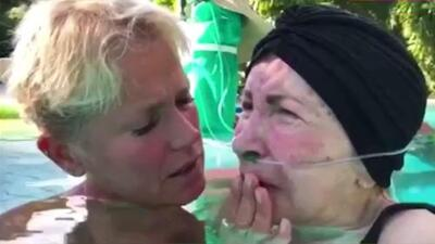 Así fue el desgarrador momento de Xuxa cantándole a su madre enferma de Parkinson