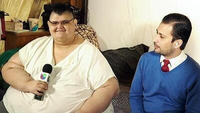 El hombre más obeso del mundo recuerda cómo era su vida cuando pesaba 1322 libras