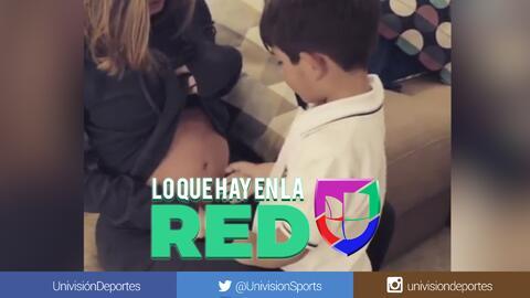 Sigue 'la fiebre' de bebés. Esposa de Andrés Guardado revela sexo de su bebé