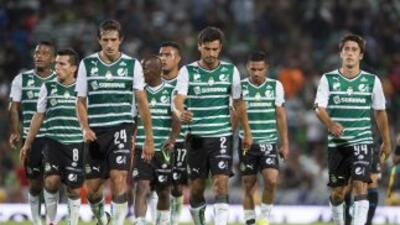 Santos Laguna perdió ante San Luis en la Copa MX y sigue sin levantar