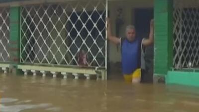 Video: La tormenta subtropical Alberto provoca fuertes inundaciones en Cuba