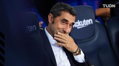 Valverde ve como una oportunidad el Barcelona vs. Real Madrid