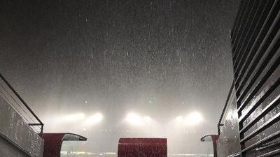 Antes de los 90 minutos terminaron el Monarcas vs Pumas por tormenta eléctrica