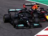 Hamilton gana el GP de Portugal y Sergio Pérez finaliza cuarto