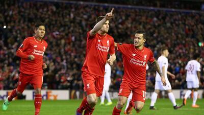 Milner, en duda por el Liverpool para la final de la Champions en Kiev