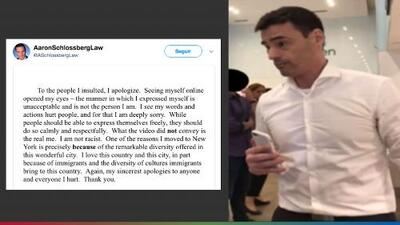 """""""No soy racista"""": la disculpa del abogado que amenazó a empleados por hablar español"""