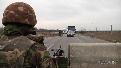 Disparos en Crimea impiden la entrada de observadores internacionales