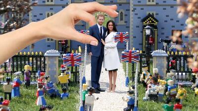 Ya tenemos las fotos de la boda del príncipe Harry y Meghan Markle (kind of 😉)