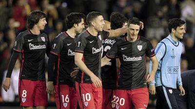 Valencia 2-1 Athletic Bilbao: Un gol polémico clasifica a los 'Leones' en la Liga Europa