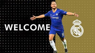 ¡Llega la BOMBA! Eden Hazard, nuevo jugador del Real Madrid
