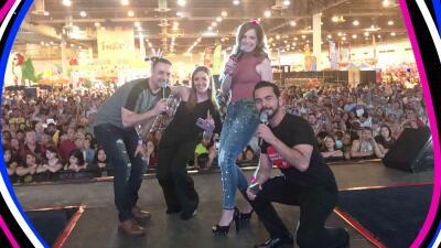 La Chula y La Bestia, de fiesta en el Festival de Mayo de Houston