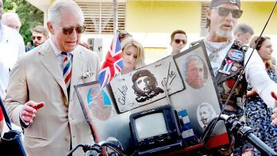 Bailarinas de salsa, boxeadores y fotos del Che: el polémico paseo del príncipe Carlos de Inglaterra por La Habana