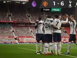 Goleada histórica del Tottenham sobre el United en Old Trafford