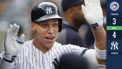 Los Yankees rompen récord con cuadrangulares en 28 partidos consecutivos