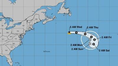 Se forma la tormenta tropical Chantal en el Atlántico, pero no representa una amenaza para Texas